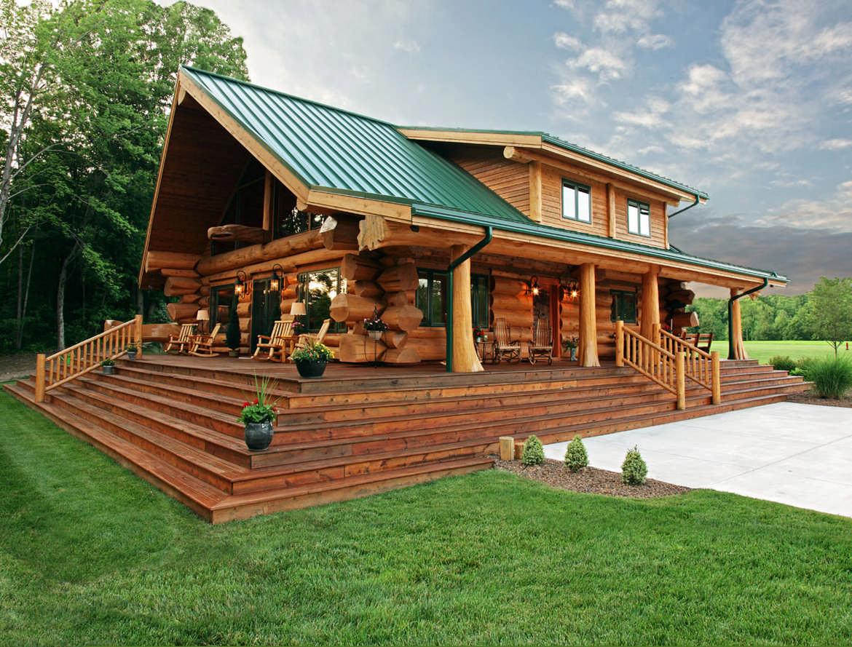 Строительство срубов домов