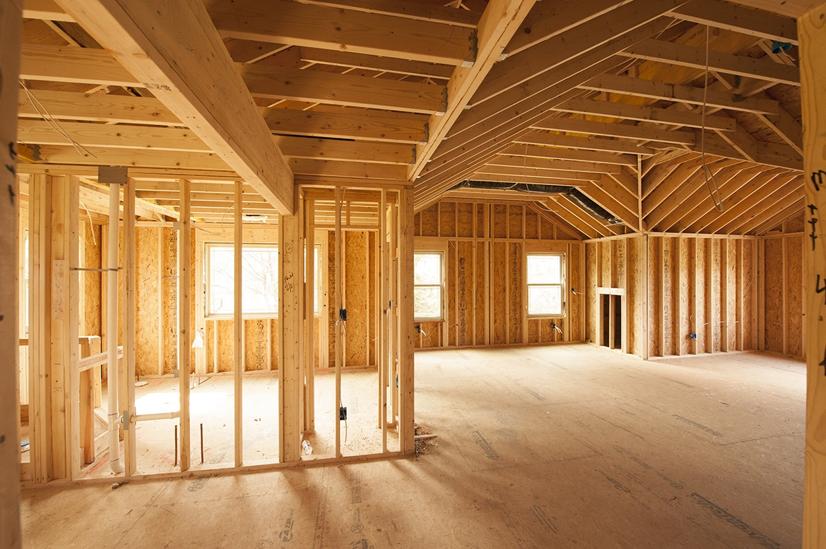 Этапы строительства каркасного дома